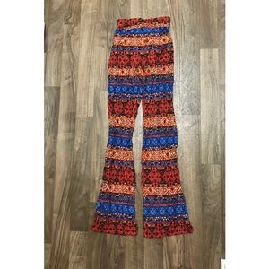 Forever 21 Tribal Print Pants